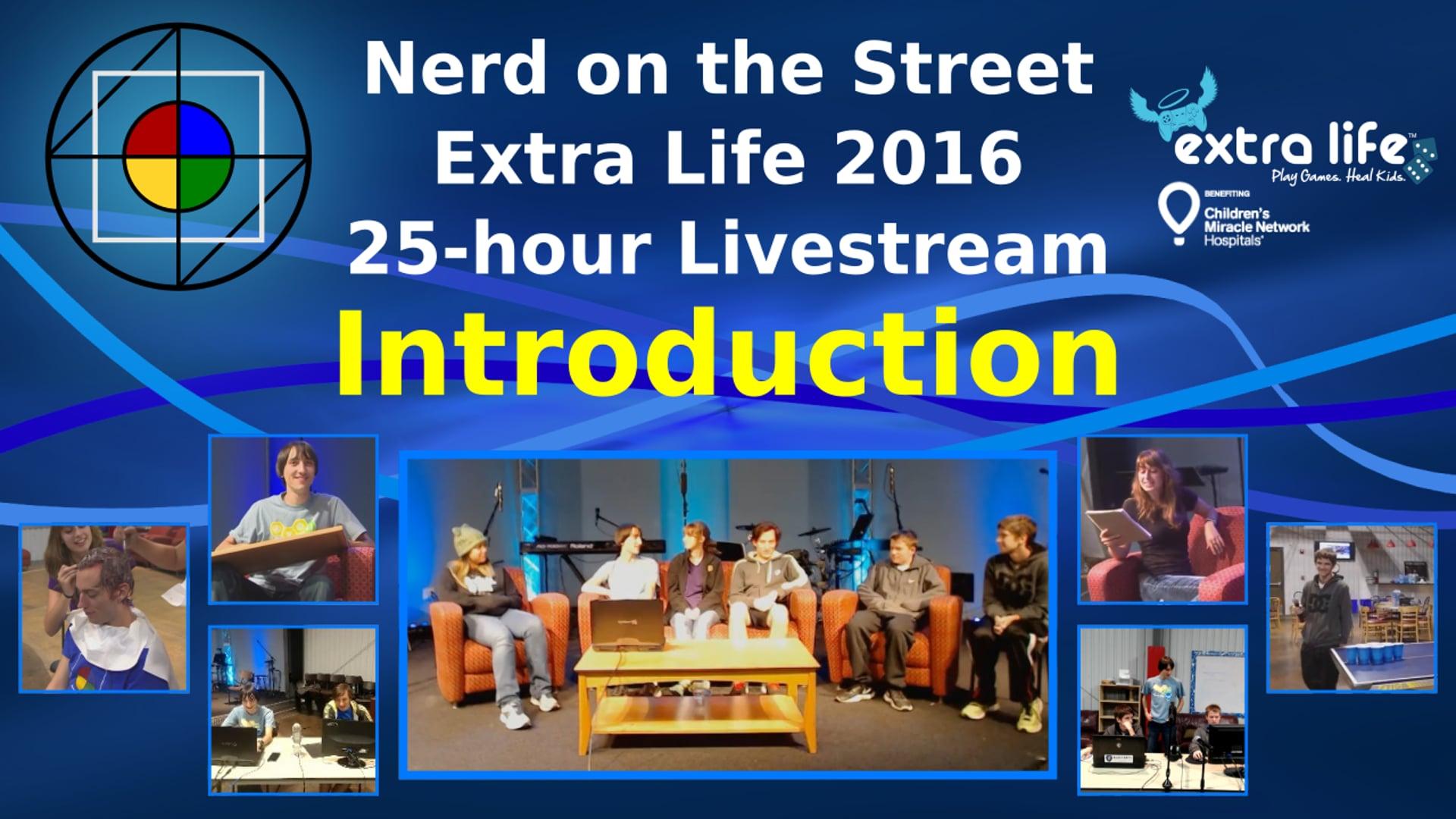 Intro - Extra Life 2016