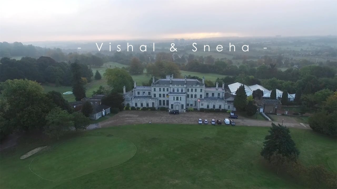 Vishal & Sneha's Moments - Indian Wedding & Reception at the Addington Palace