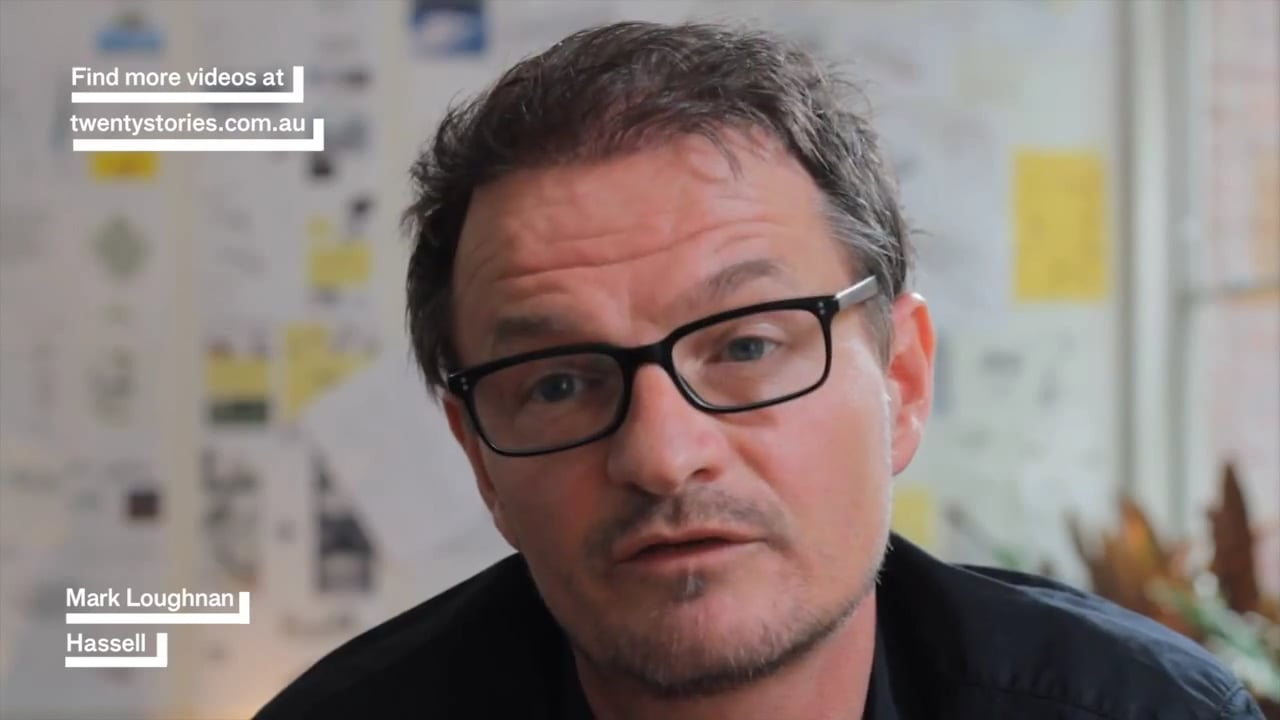 Mark Loughnan interview for %27From the Ground Up- 20 Stories From a Life in Architecture%27