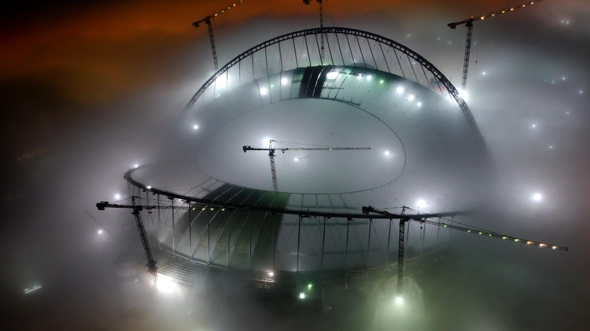 MK timelapse Khalifa Stadium Qatar