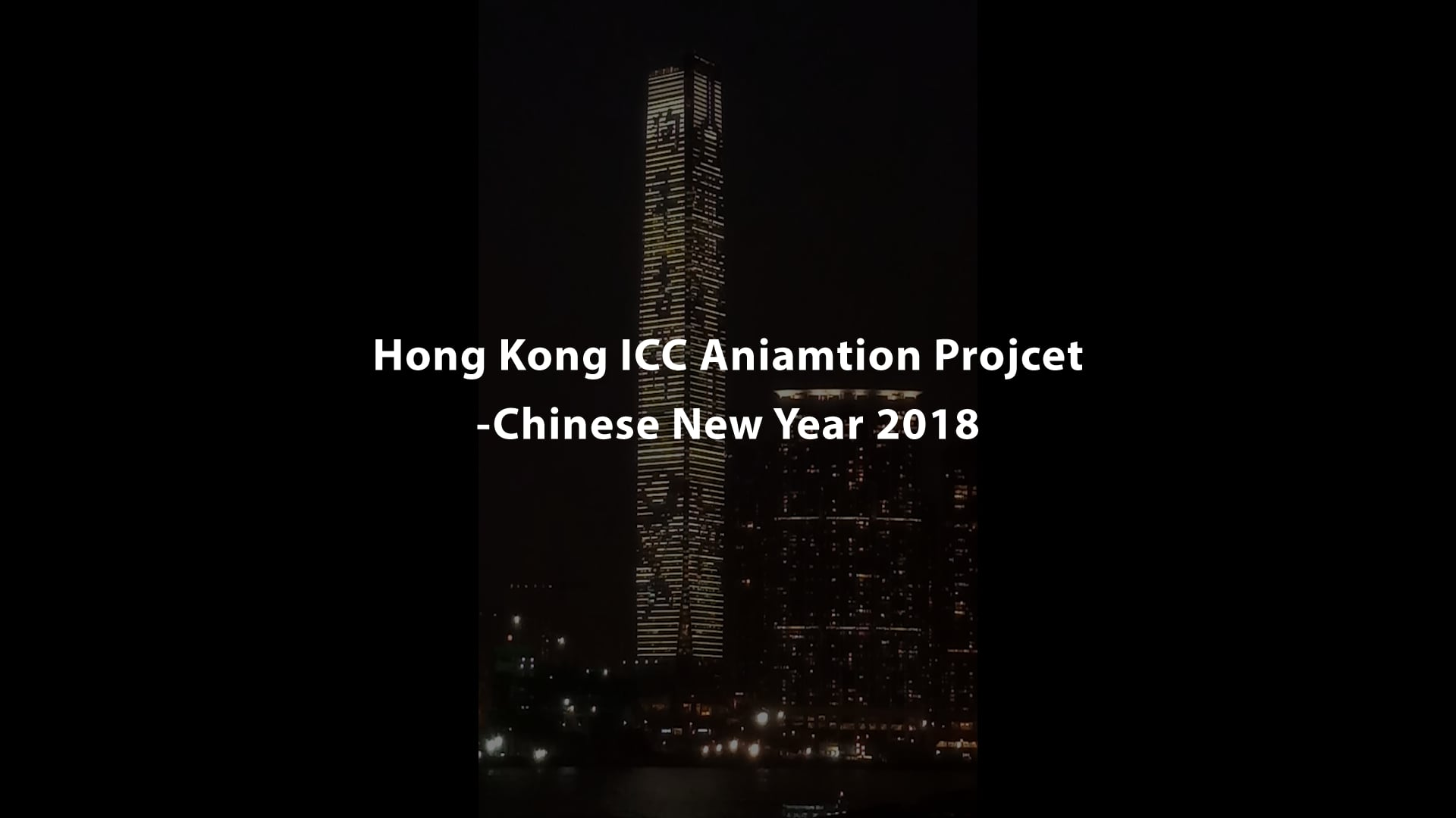 Hong Kong ICC Animation Project - Chinese New Year