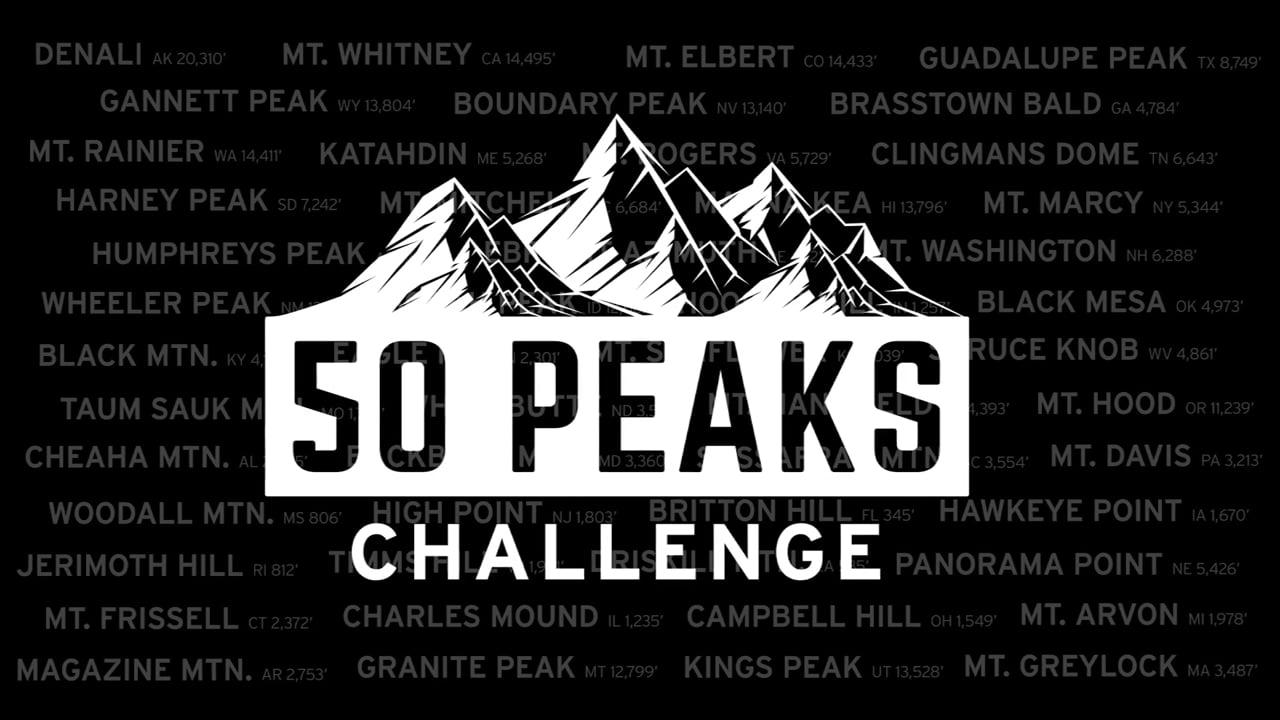 50 Peaks Challenge Finale - The Last Peak
