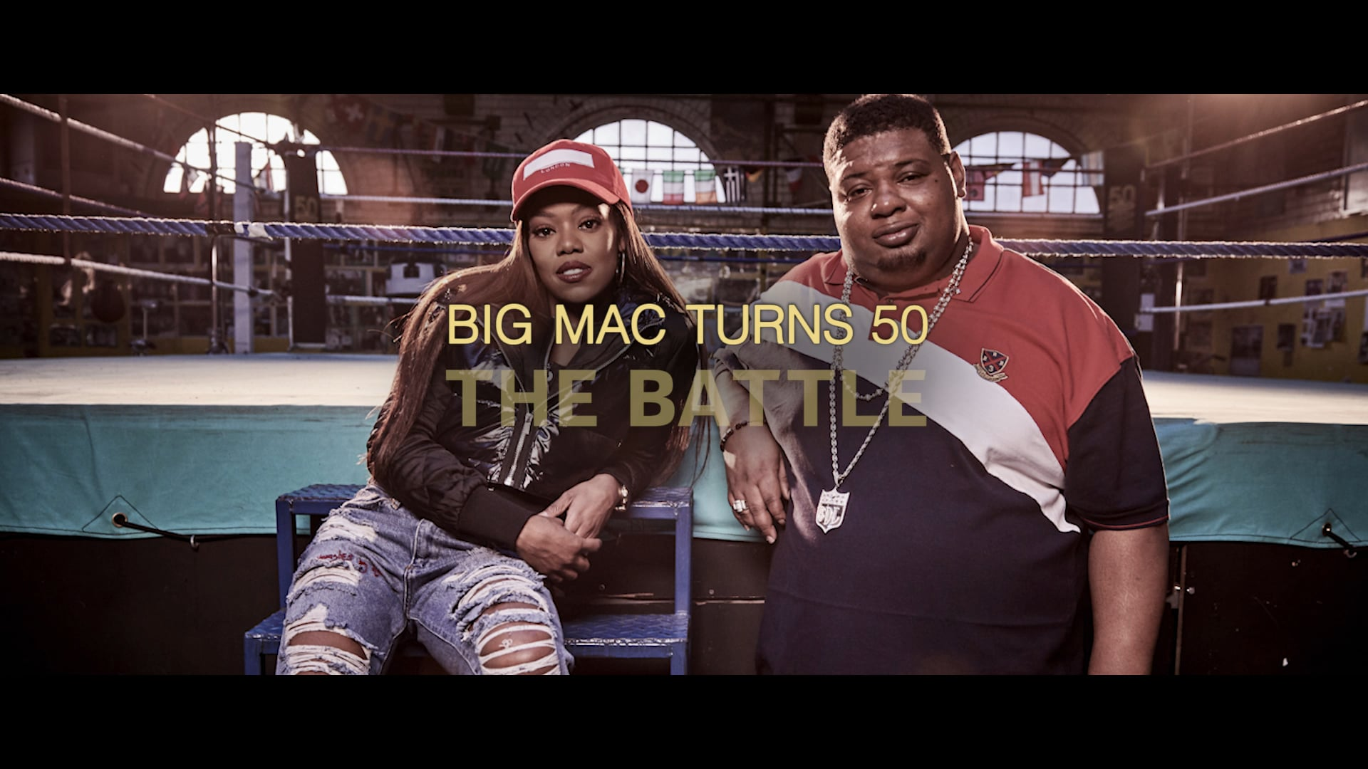 McDonalds Big Mac Battles - Lady Leshurr vs Big Narstie