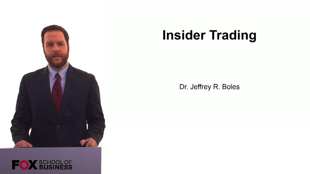 60287Insider Trading