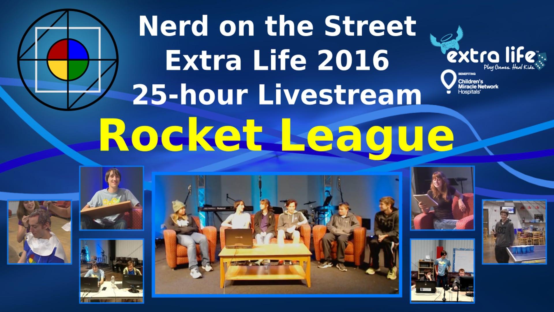 Rocket League - Extra Life 2016