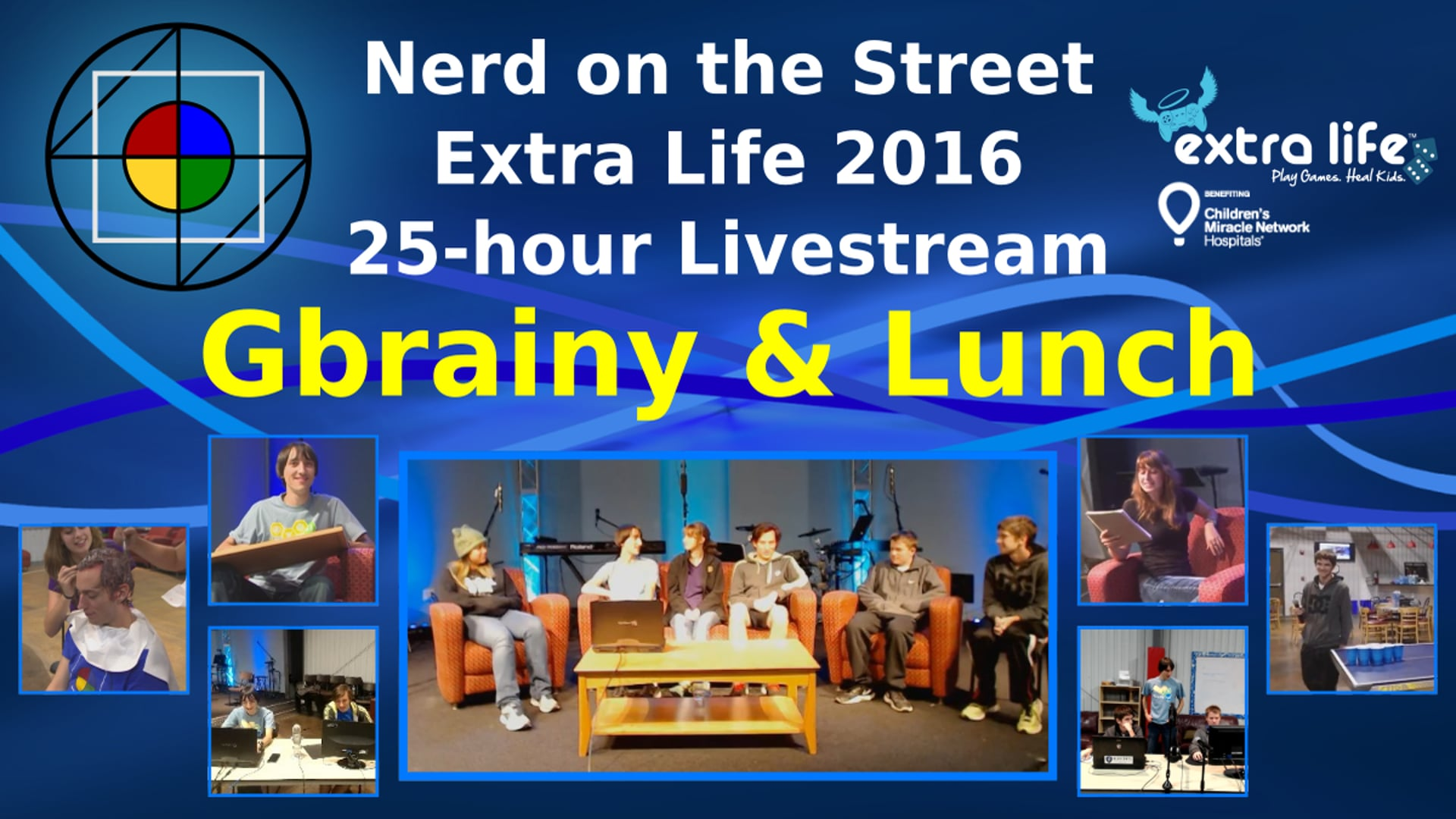 Gbrainy & Lunch - Extra Life 2016