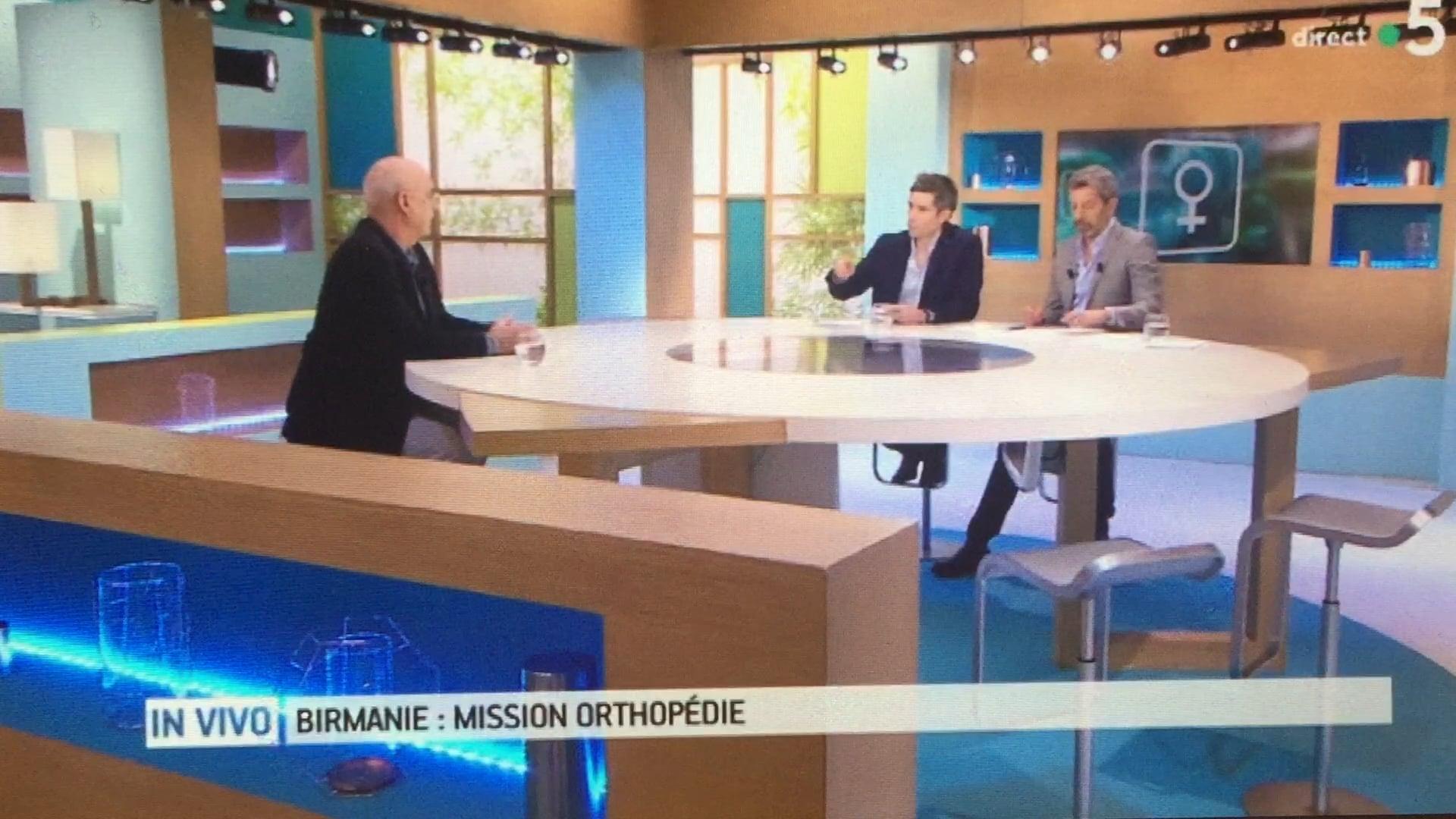 France 5 Direct Prof Jouve Emission de la santé