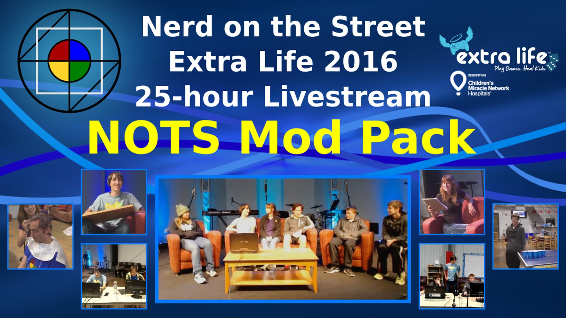 NOTS Mod Pack - Extra Life 2016