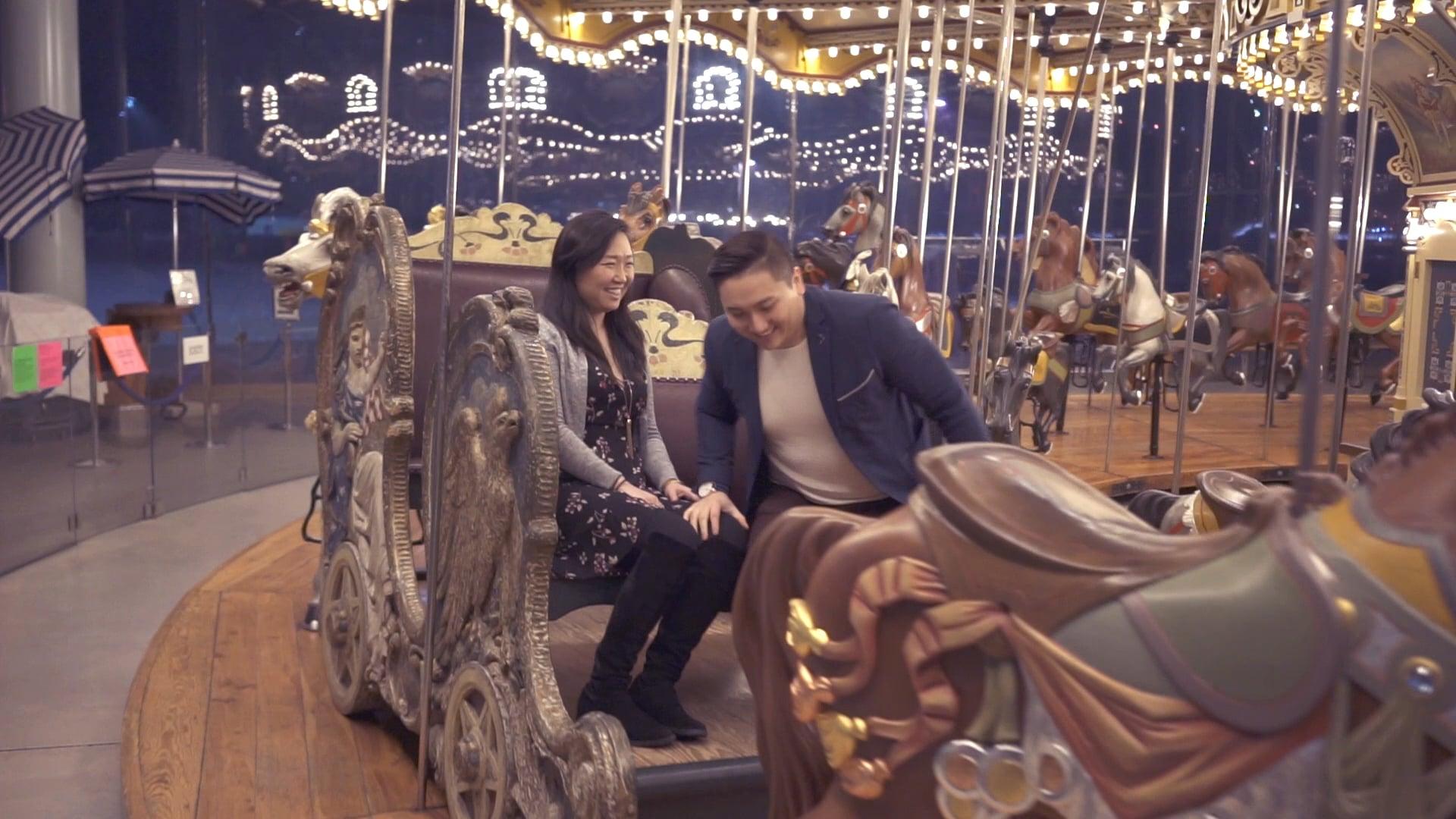 Proposal In Dumbo NYC- Jane's Carousel