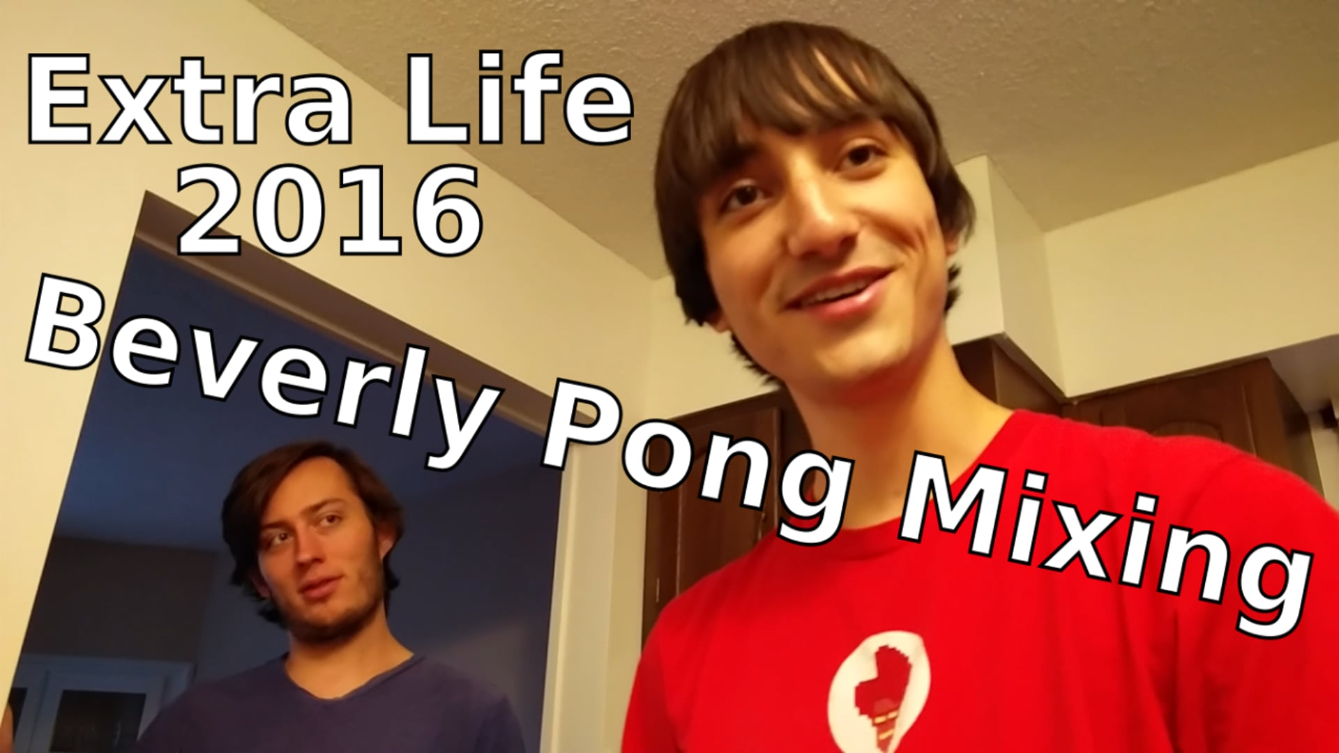 Beverly Pong Mixing - Extra Life 2016 BTS