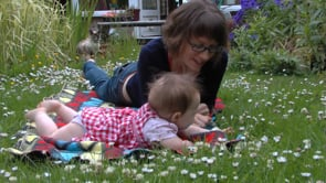 Watch Babies Outdoors - Bobby plays in the garden