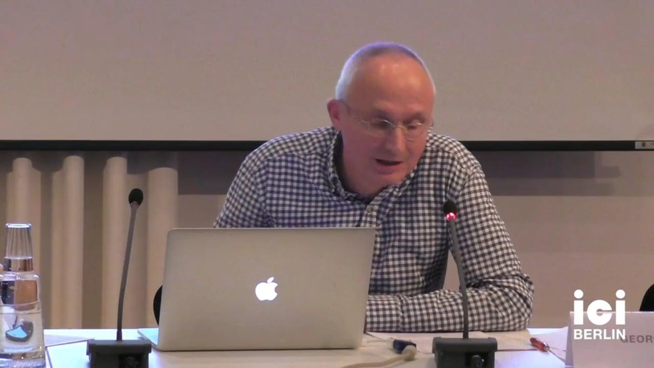 Talk by Georg Witte