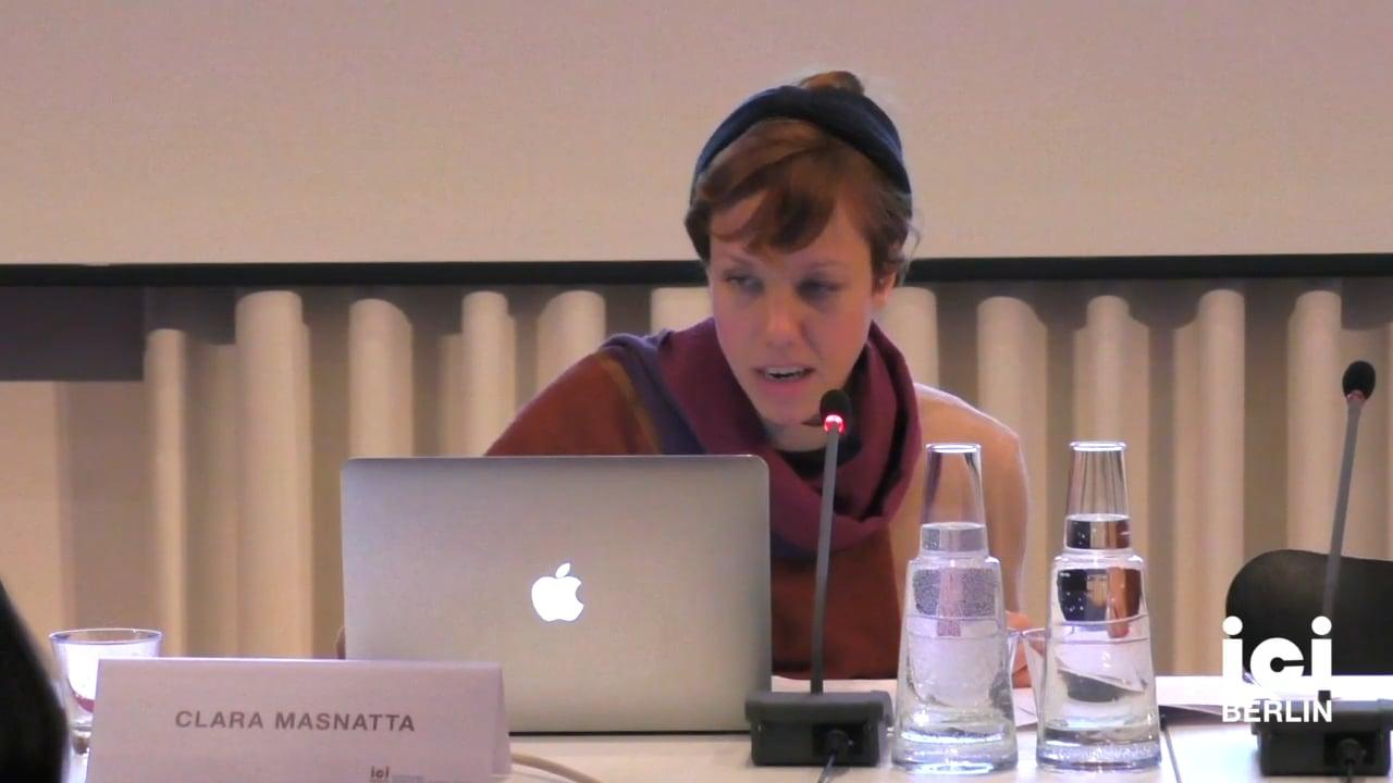 Talk by Clara Masnatta