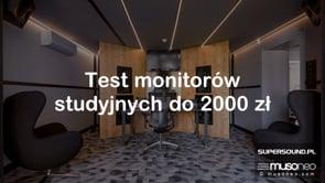 Monitory studyjne do 2000 zł