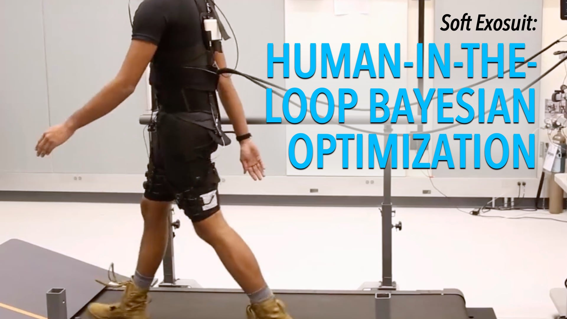 Soft Exosuit: Human-in-the-Loop Bayesian Optimization