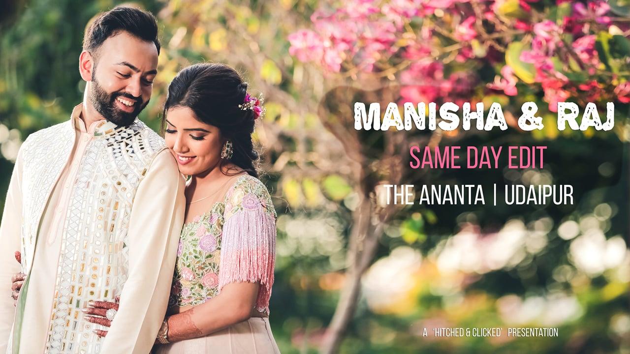 Manisha & Raj   Ananta Resort, Udaipur   Same day Edit