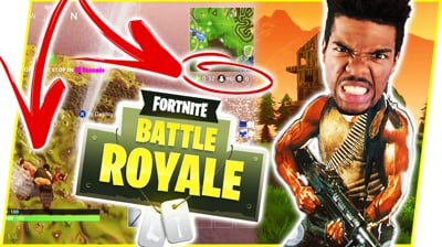 TRYING TO BE RAMBO! JUMPING EARLY TO CATCH BODIES!! - FortNite Battle Royale