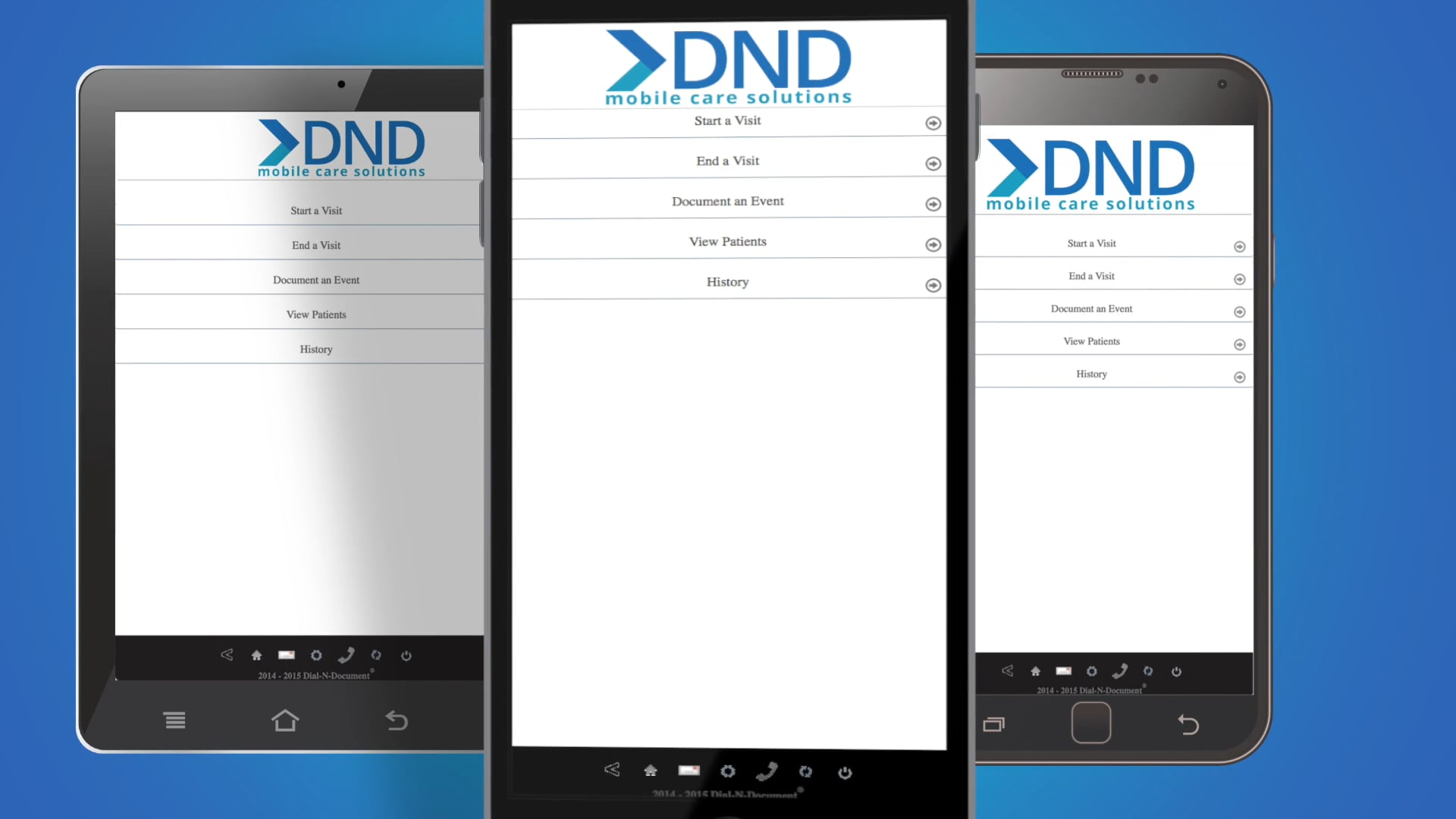 Introducing the DND Mobile Web App