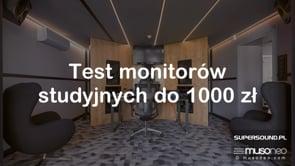 Monitory studyjne do 1000 zł