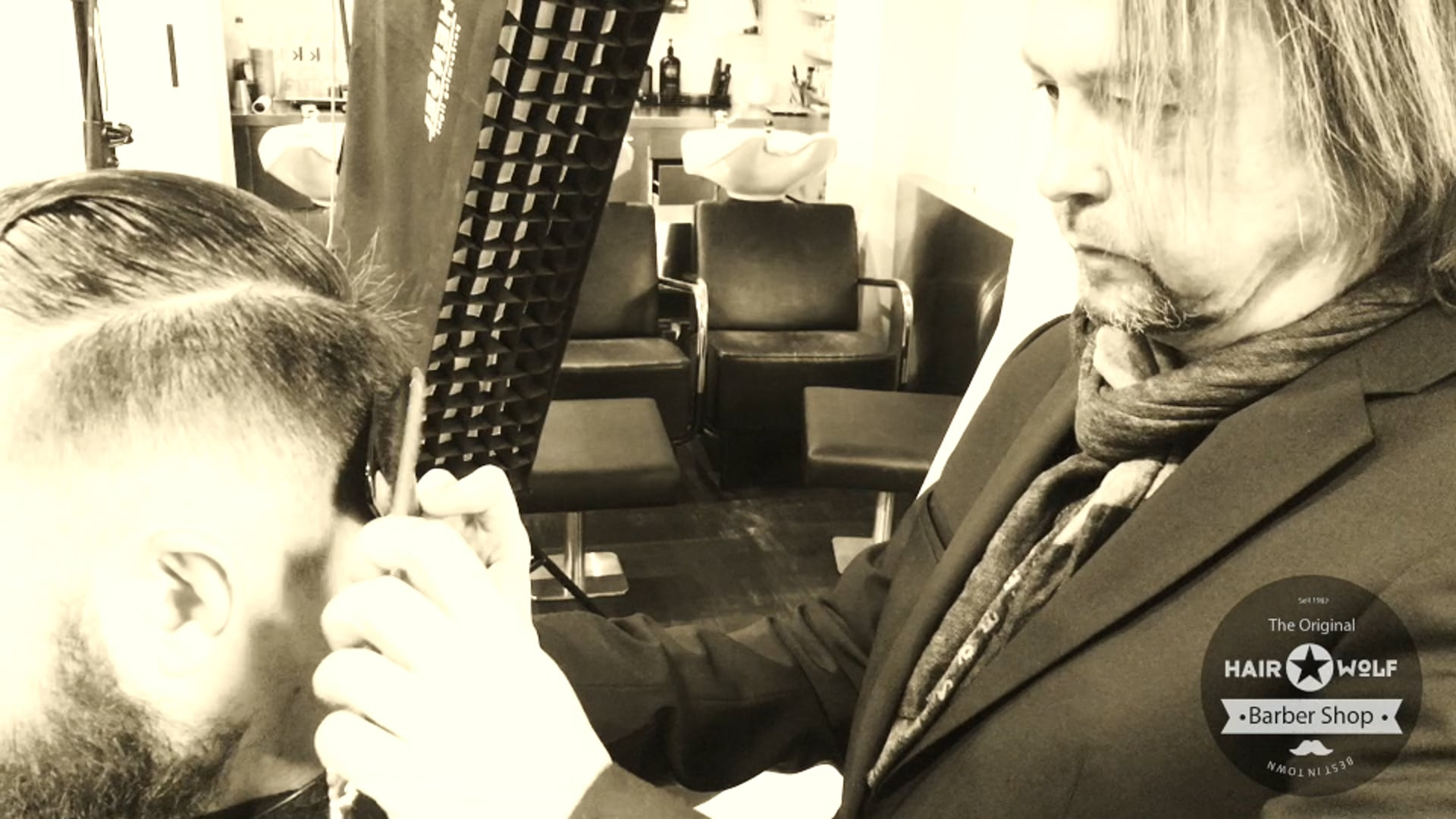 Barber Shop, Hair Wolf