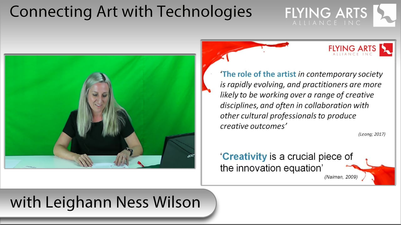 Conecting Arts with Technology