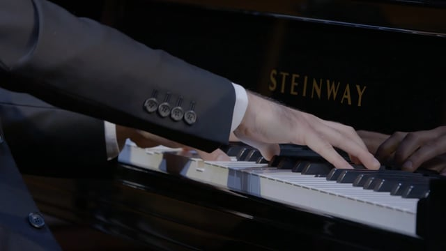 """Michael Brown plays Beethoven: Variations and Fugue for Piano in E-flat Major, Op. 35, """"Eroica"""""""