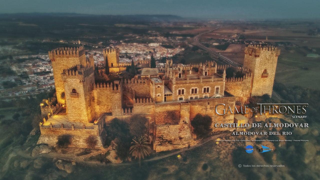 Castillo de Almodovar del Rio en 4k - Castles 4k of Spain - Castle GAME OF THRONES Scenary