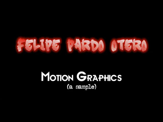 3D & Motion Samples