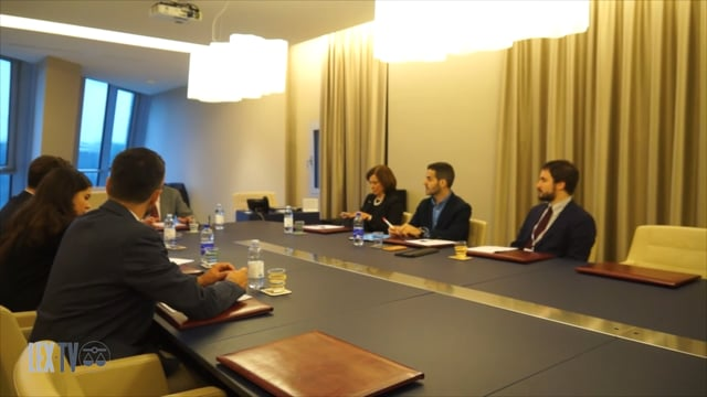 02/03/2018 Delegazione Aija in visita all'Ordine degli Avvocati di Firenze