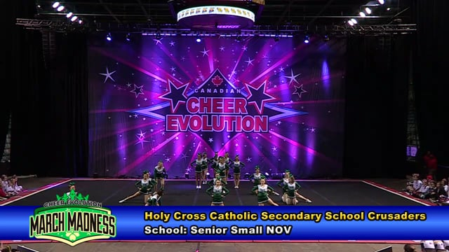 Holy Cross Catholic Secondary School Crusaders Sr Sm NOV