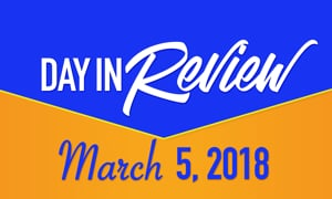 HIS Morning Crew Day In Review: Monday, March 5, 2018