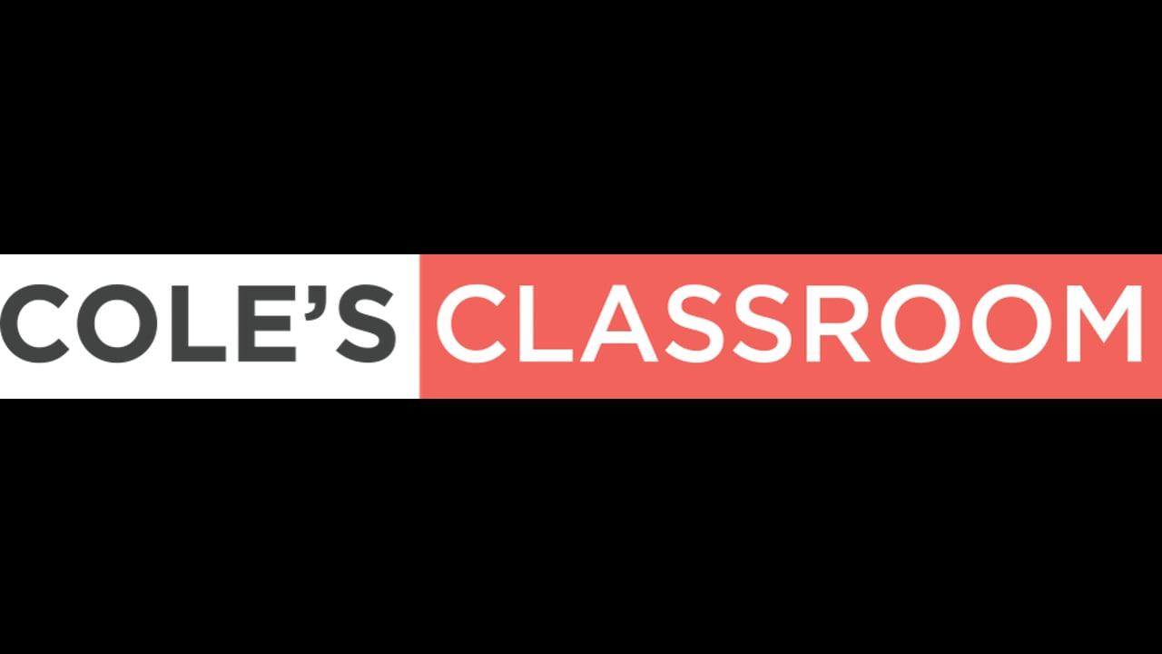 Cole's Classroom - DSLR