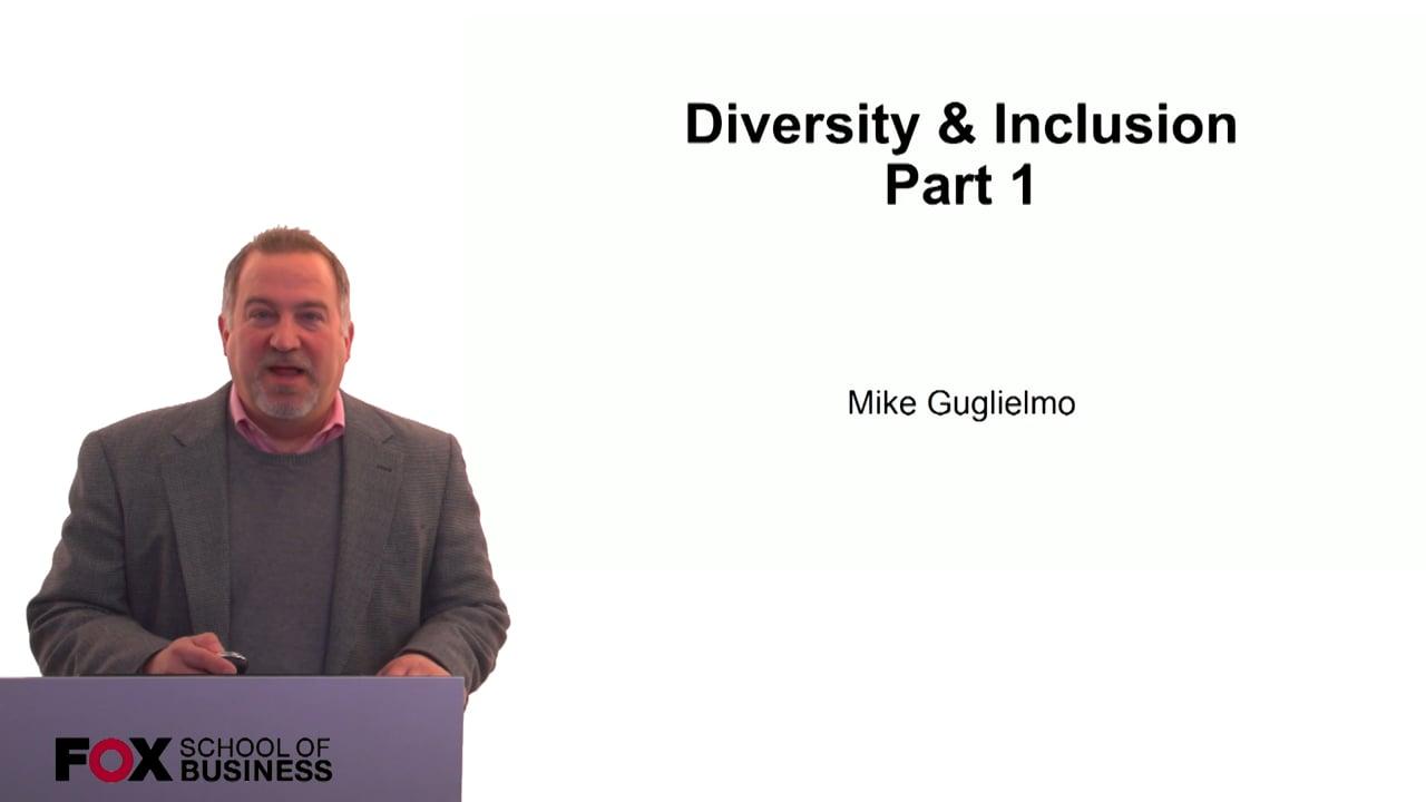 60293Diversity & Inclusion Part 1