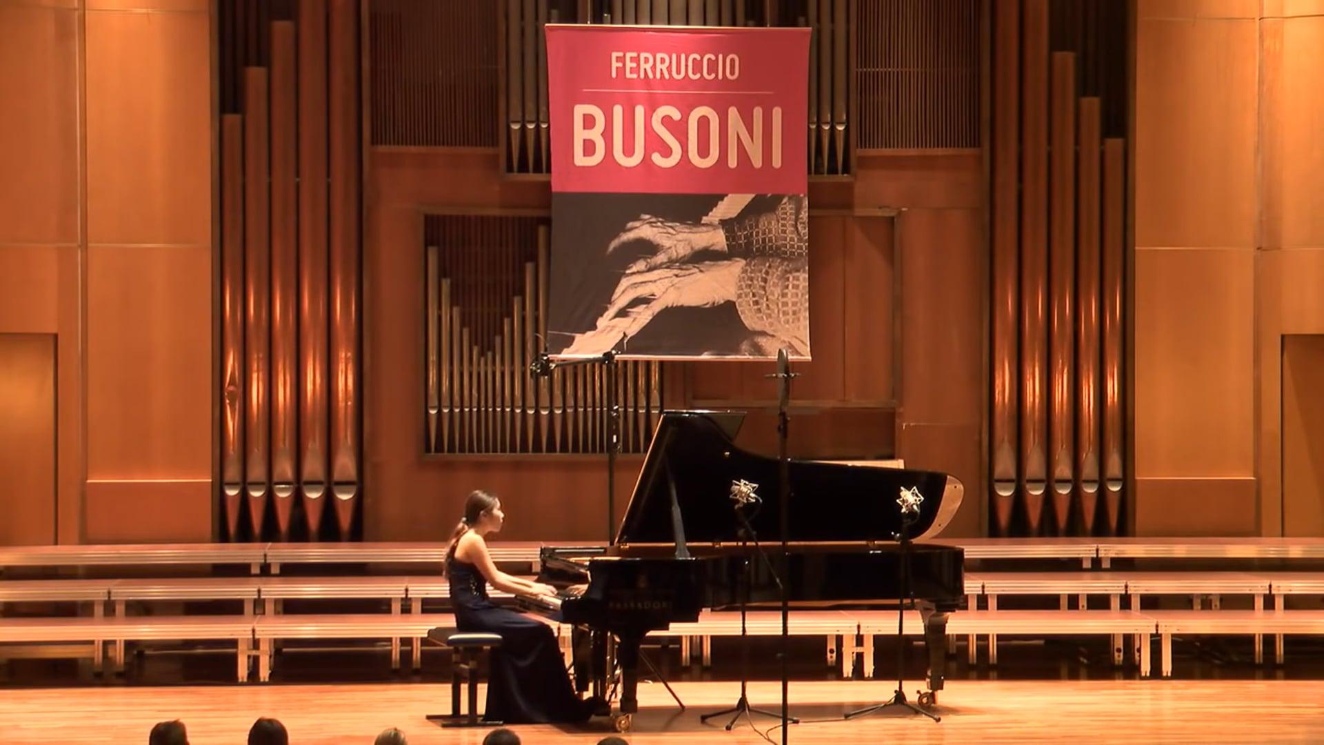 Chloe (Ji-Yeong) Mun - Solo Semi-Finals - 60th F. Busoni International Piano Competition