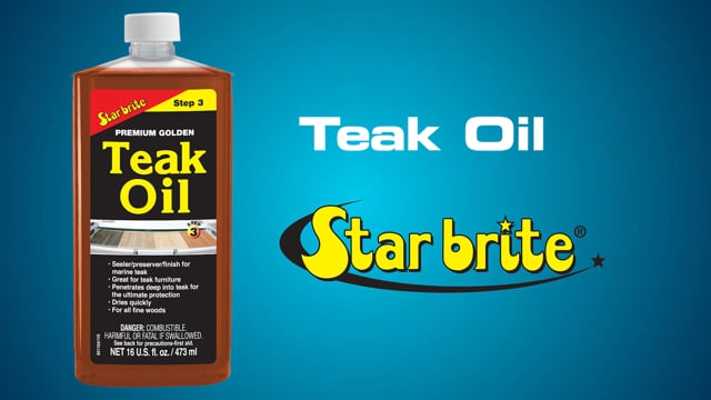Teak Oil Long