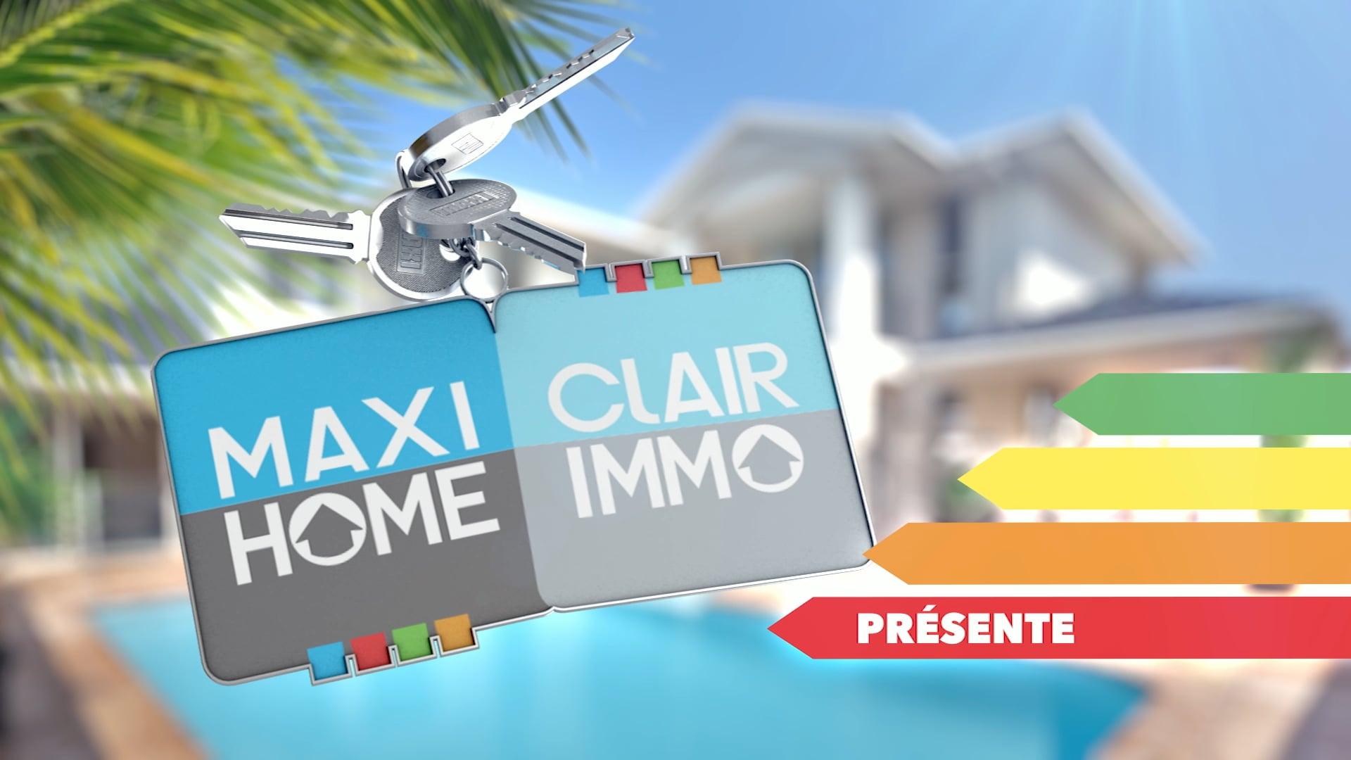 MAXI HOME / CLAIR IMMO Pub TV