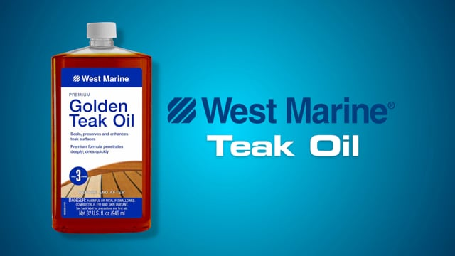 West Marine Teak Oil