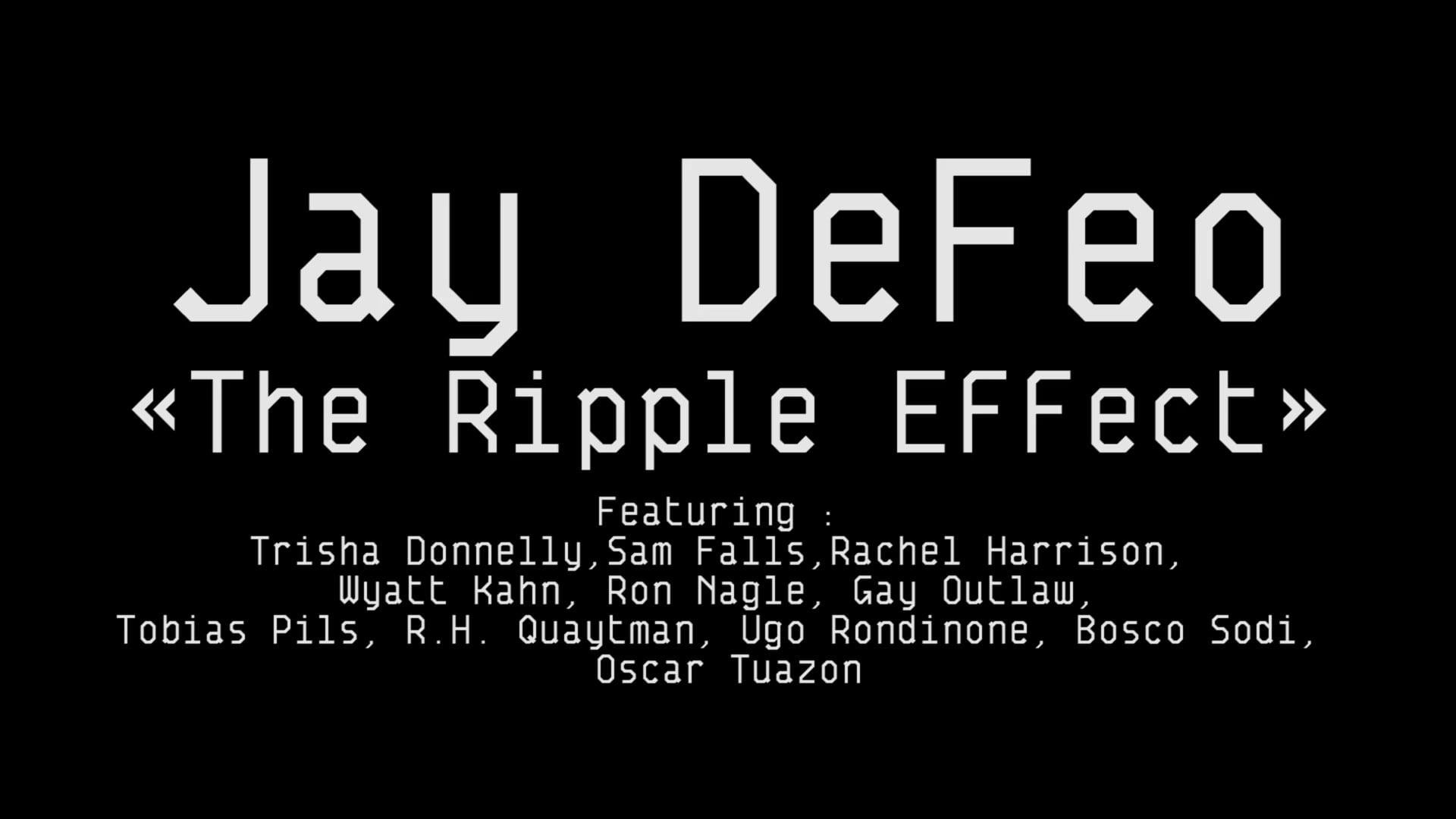 Portrait of an artist : Jay DeFeo « The Ripple Effect »