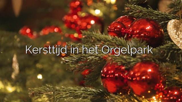 Kersttijd in het Orgelpark