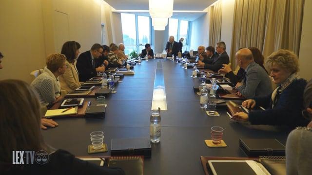 07/03/2018 La visita del sindaco Nardella all'Ordine degli Avvocati di Firenze