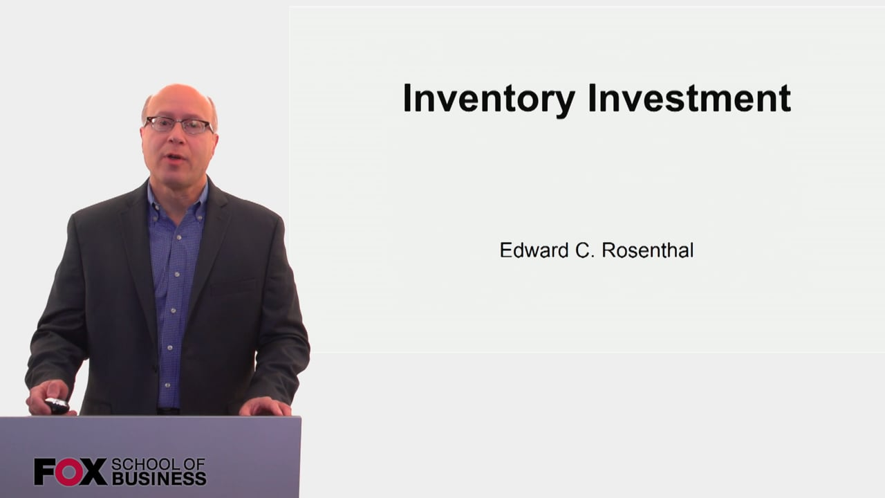 60152Inventory Investment