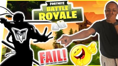 NINJA MEMBER FAIL COMP! - FortNite Battle Royale