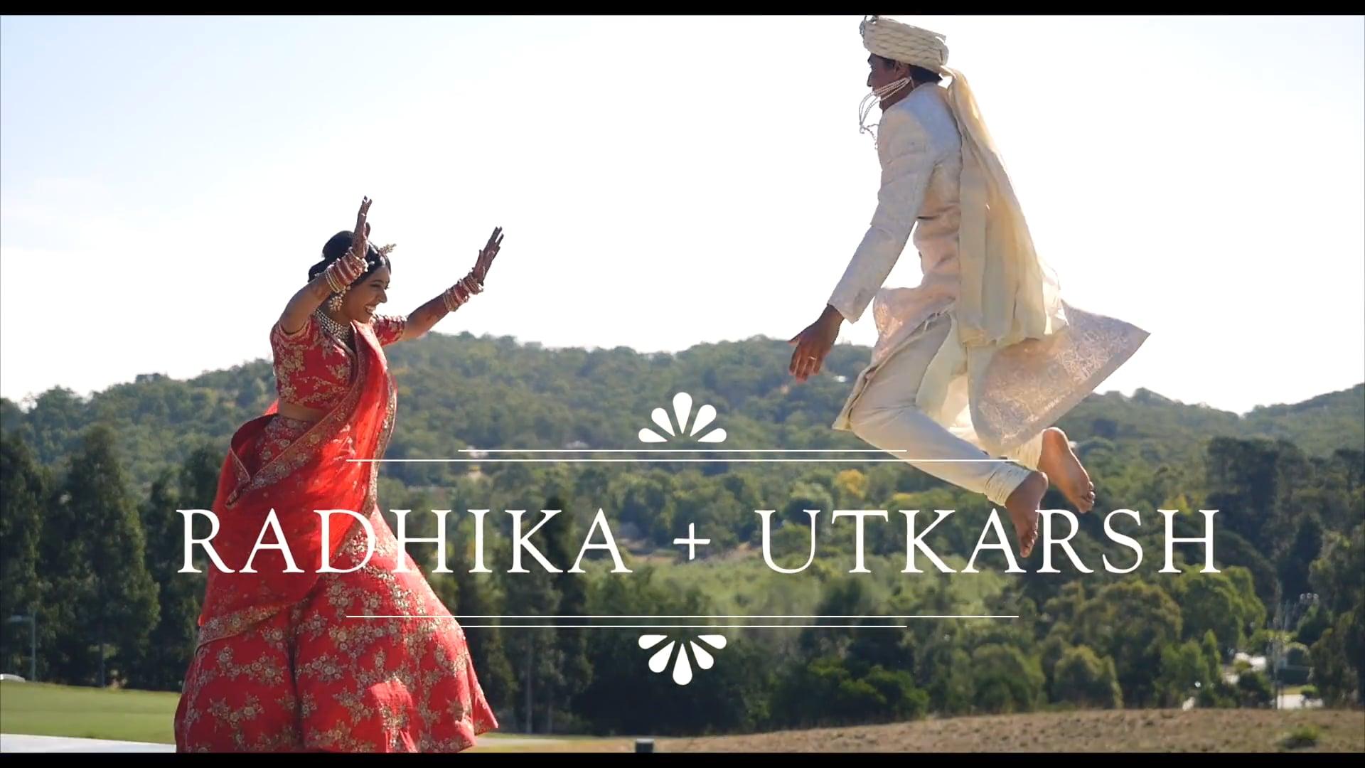 Radhika + Utkarsh - Unstoppable Force of Fun - The Wedding Film // Sansa x Ferndara