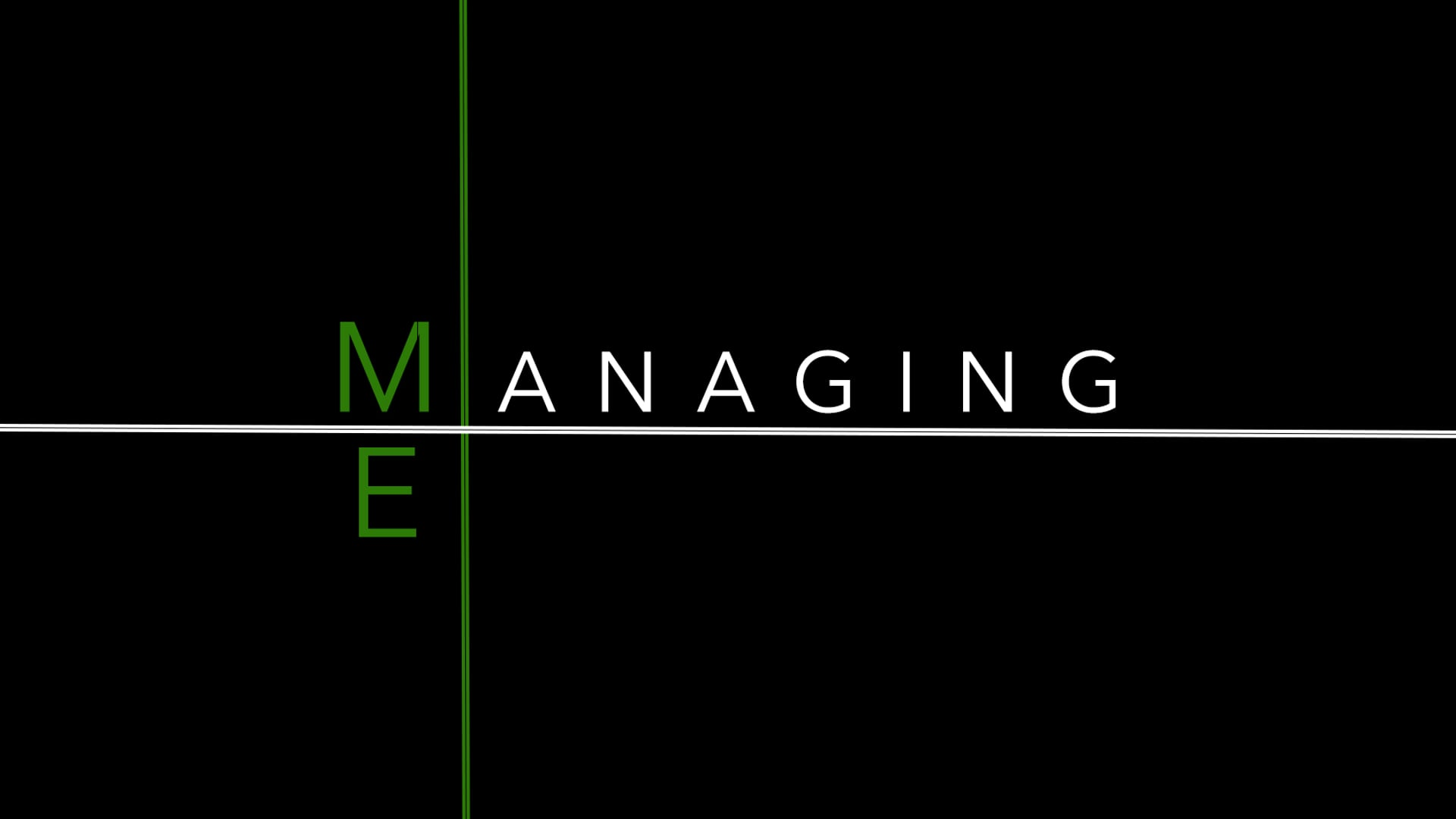 Managing Me Part 2- Pastor Fred McCarthy