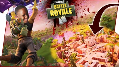 THE TILTED TOWERS MASSACRE! - FortNite Battle Royale