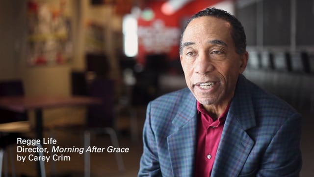 Regge Life talks about directing Morning After Grace by Carey Crim