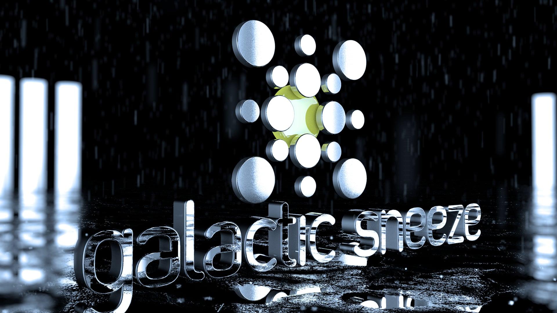 Galactic Sneeze (animated logo)