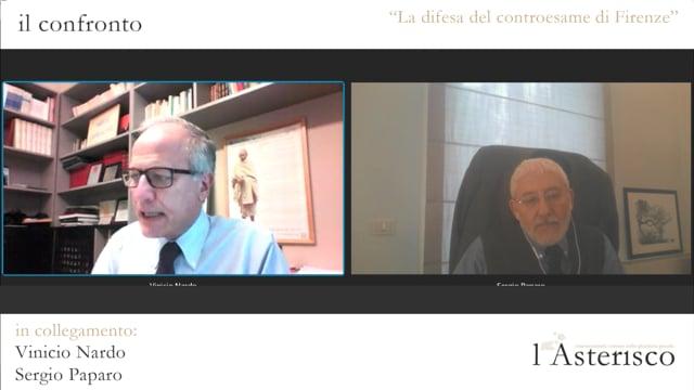 Il Presidente Sergio Paparo sulle iniziative dell'Ordine per il processo ai carabinieri imputati di violenza