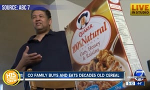 Family Accidentally Eats 21 Year Old Quaker Cereal