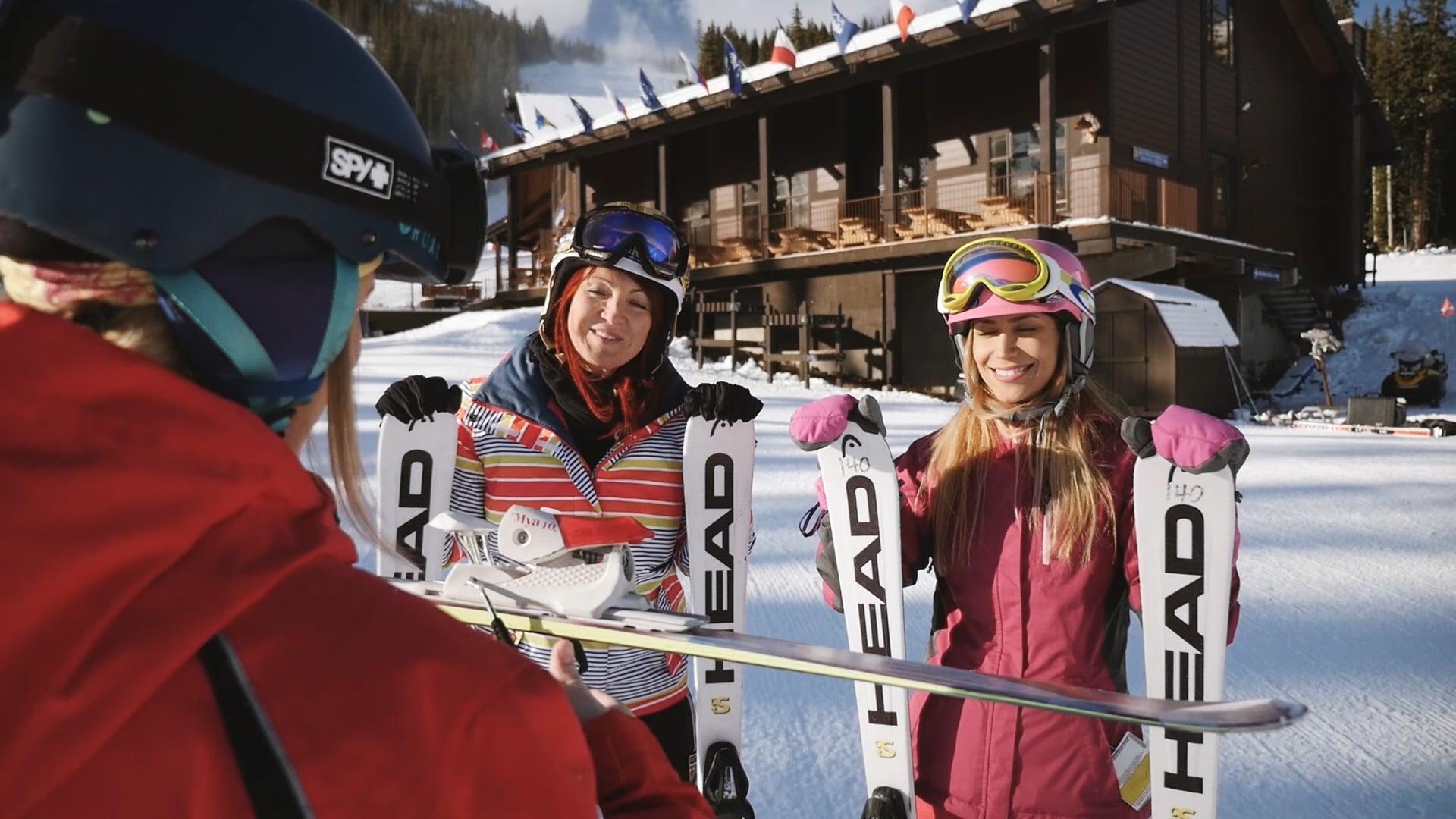 Learning to Ski in Alberta